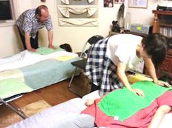 当院は小さな個人の施術院ですが、療法を習いたいという要望があります。