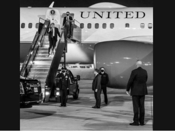 トランプ大統領が帰ってくる